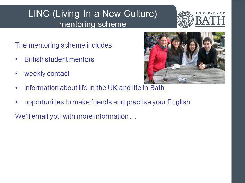 LINC (Living In a New Culture) mentoring scheme