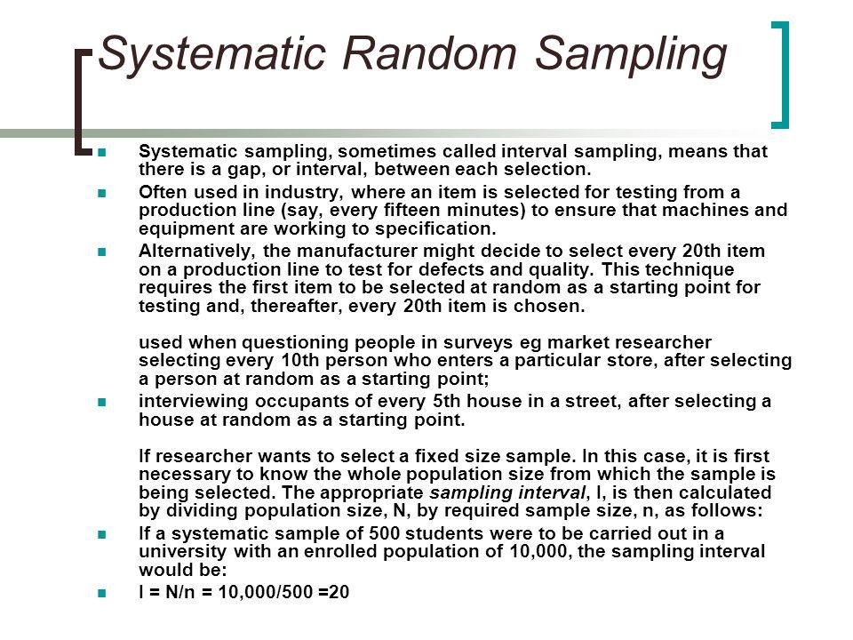 Sampling and Basic Descriptive Statistics - ppt download