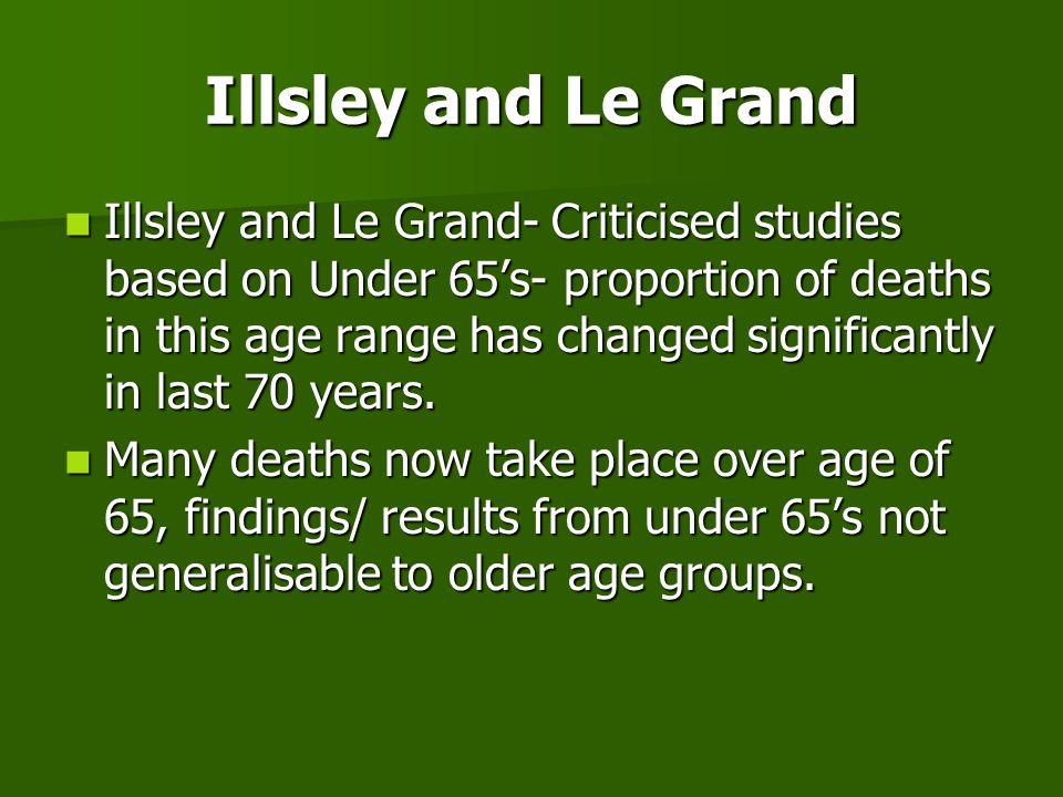 Illsley and Le Grand