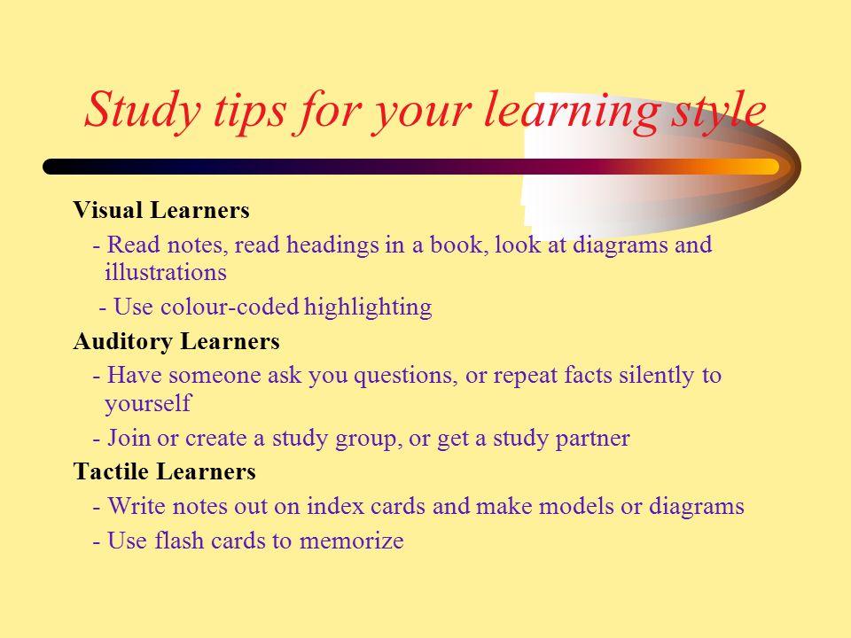 How to Study for Exams... Dear Math
