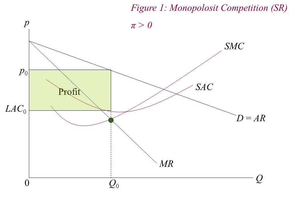 Figure 1: Monopolosit Competition (SR)