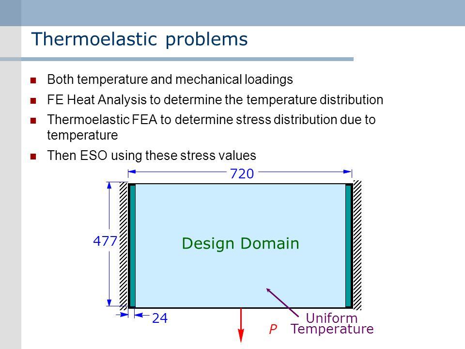 Thermoelastic problems