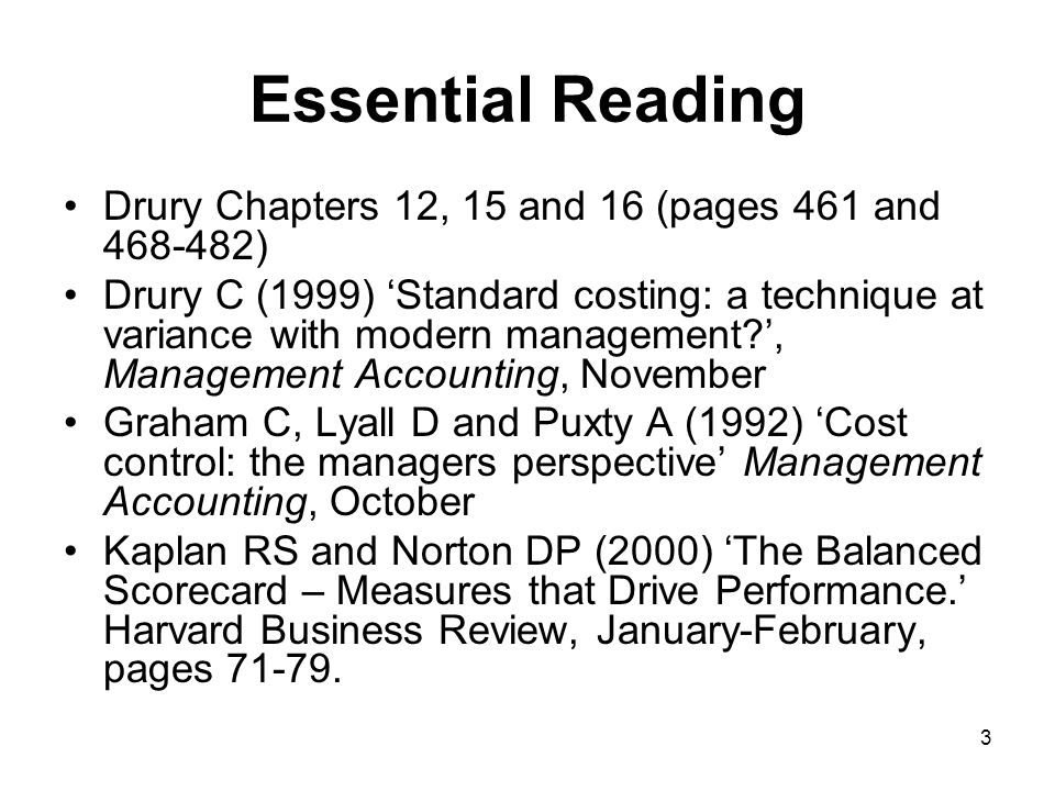 Essential Reading Drury Chapters 12, 15 and 16 (pages 461 and 468-482)