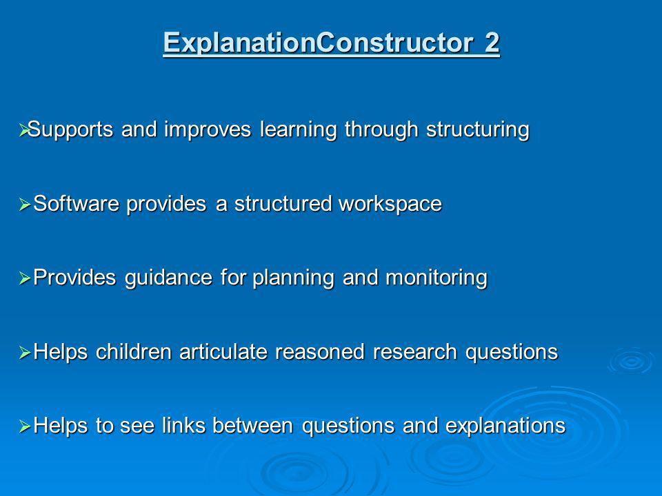 ExplanationConstructor 2