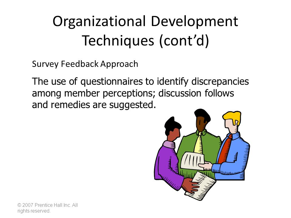 techniques of organizational development used to A good way to achieve these outcomes, and a myriad of other benefits, is through  dedicated organizational development (od) od is the practice of planned,.