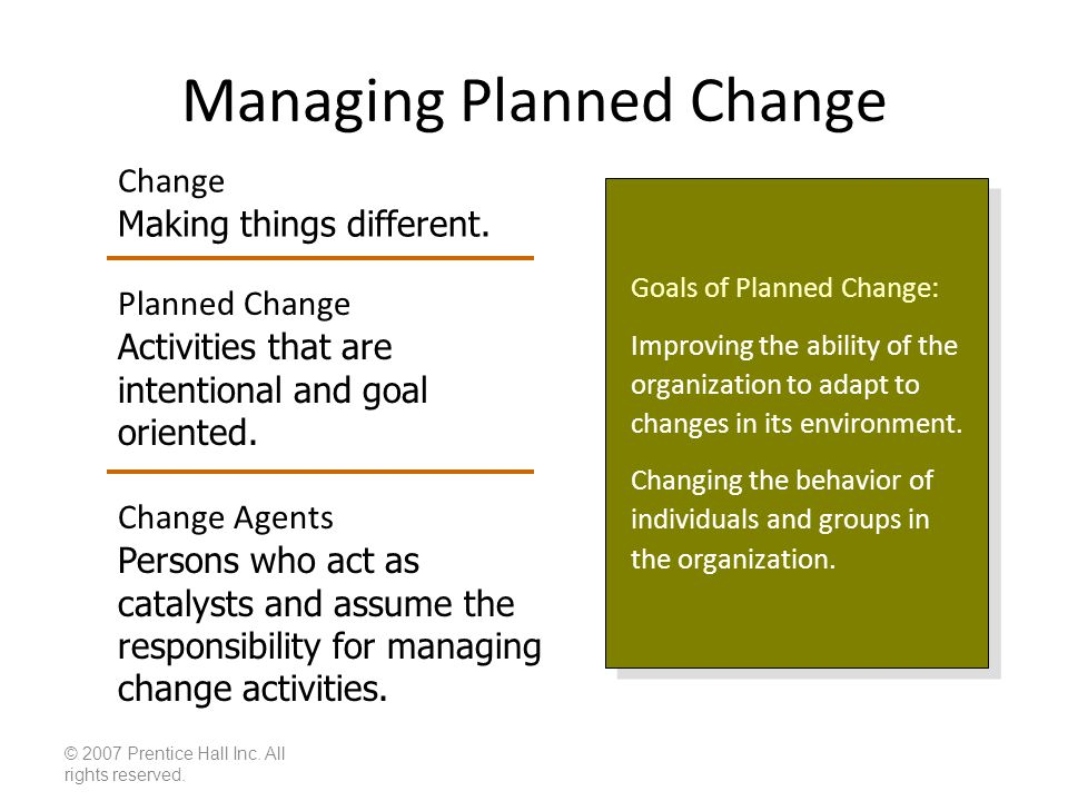managing resistance to change in an organization pdf