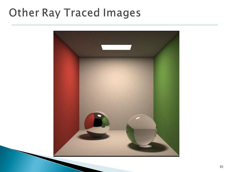 Other Ray Traced Images