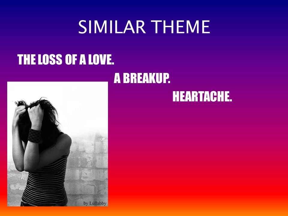 Stunning Break Up Poems Lyrics Contemporary - Valentine Gift Ideas ...