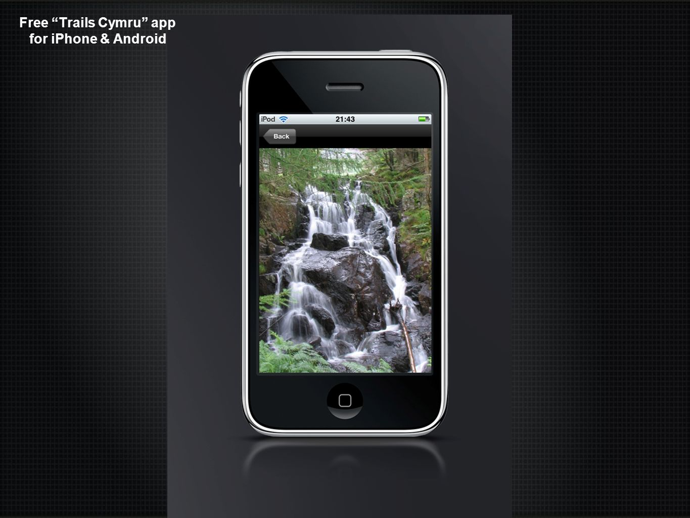 Free Trails Cymru app for iPhone & Android