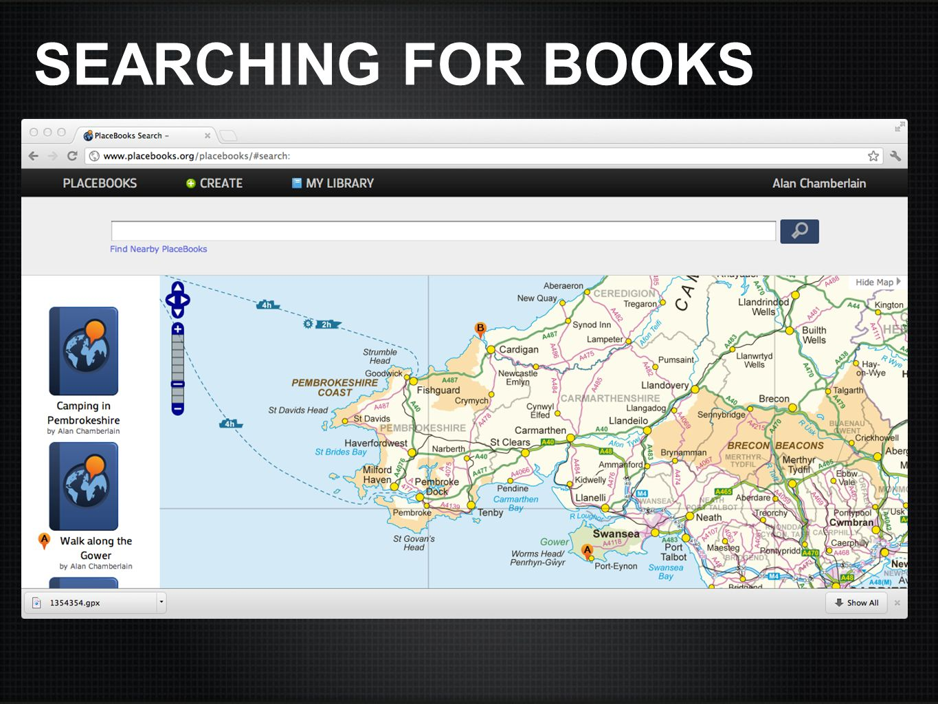 SEARCHING FOR BOOKS