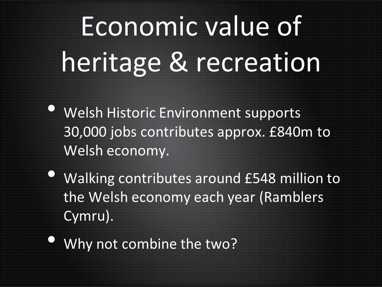 Economic value of heritage & recreation