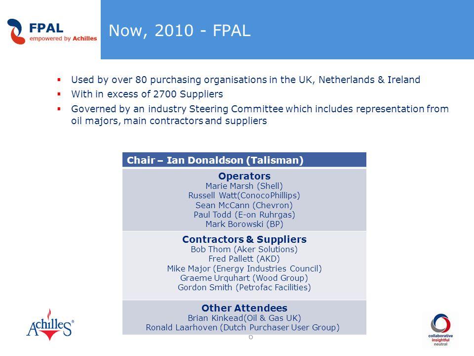 Contractors & Suppliers