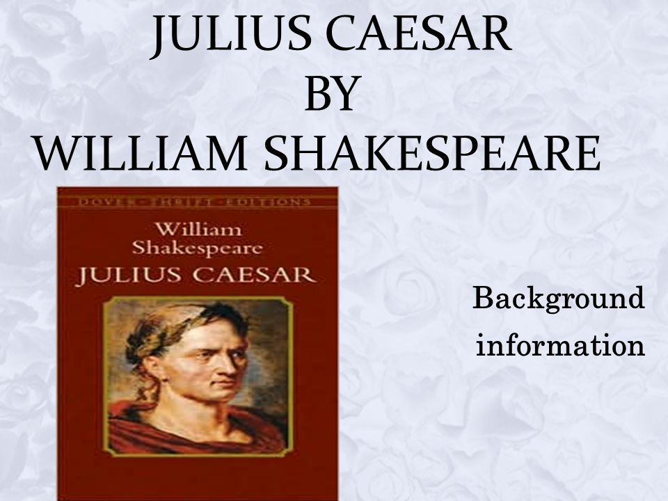 an analysis of the character marcus brutus in the julius caesar a play by william shakespeare Julius caesar william shakespeare buy all subjects play summary about julius caesar character list summary and analysis act i marcus brutus a.
