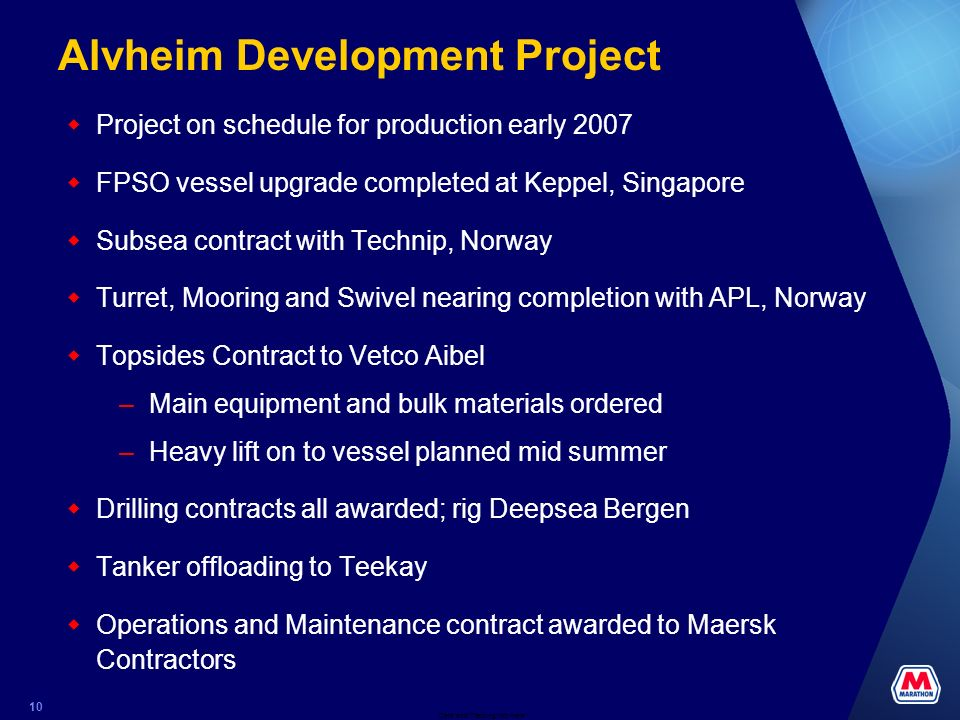 Alvheim Development Project