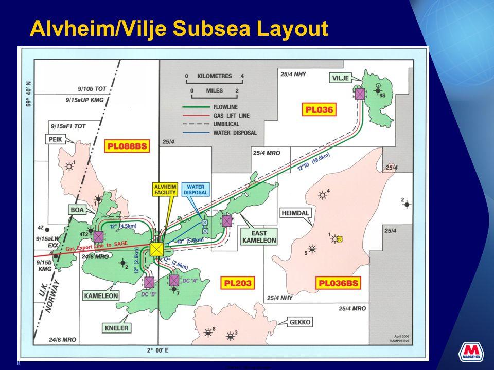 Alvheim/Vilje Subsea Layout