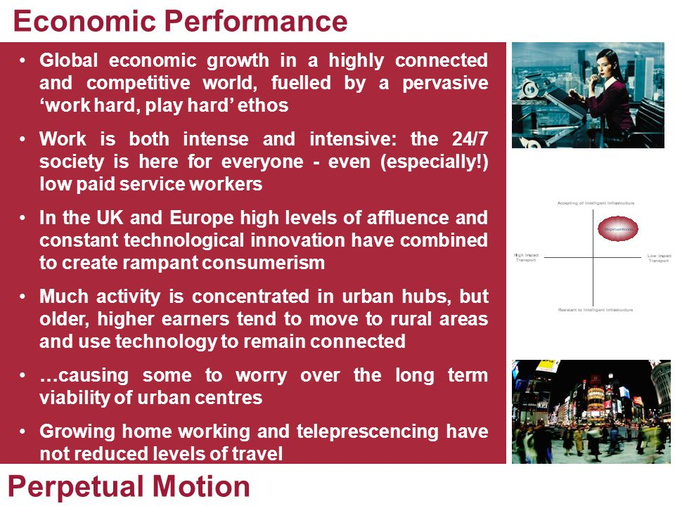Economic Performance Perpetual Motion