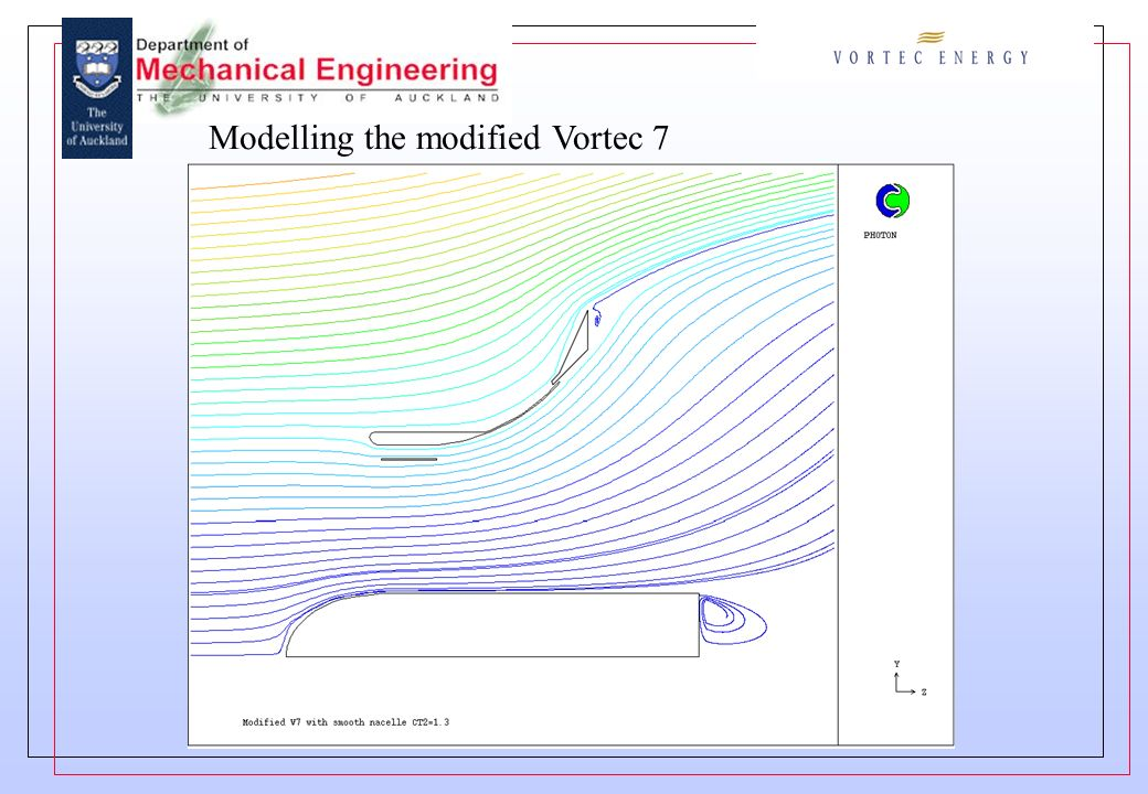Modelling the modified Vortec 7