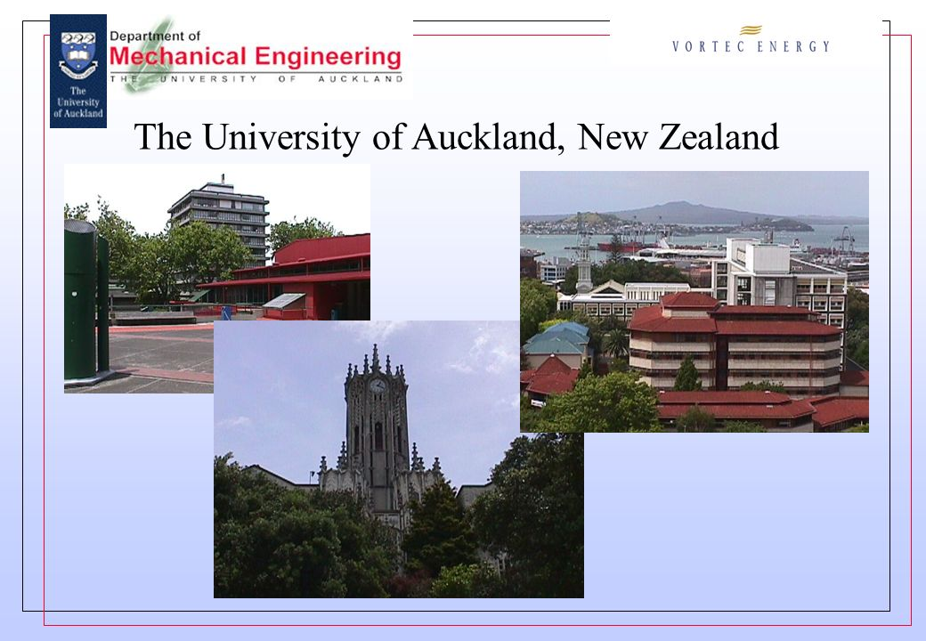 The University of Auckland, New Zealand