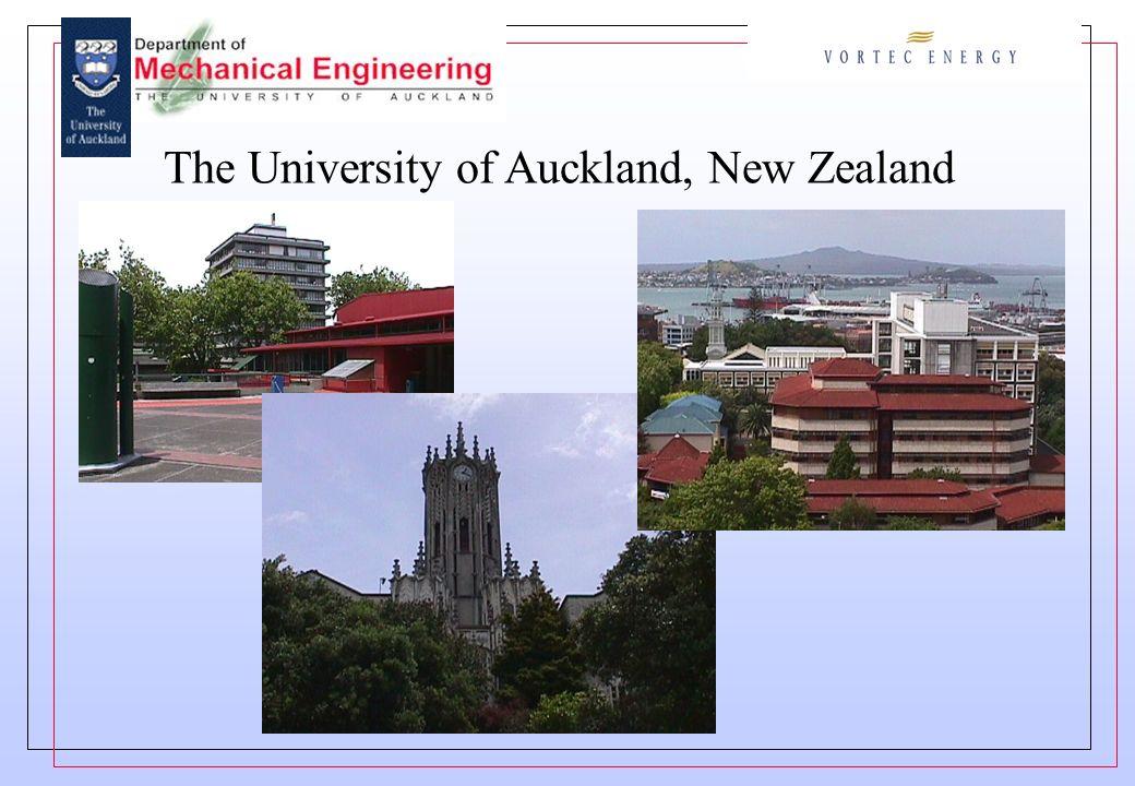The University of Auckland, New Zealand