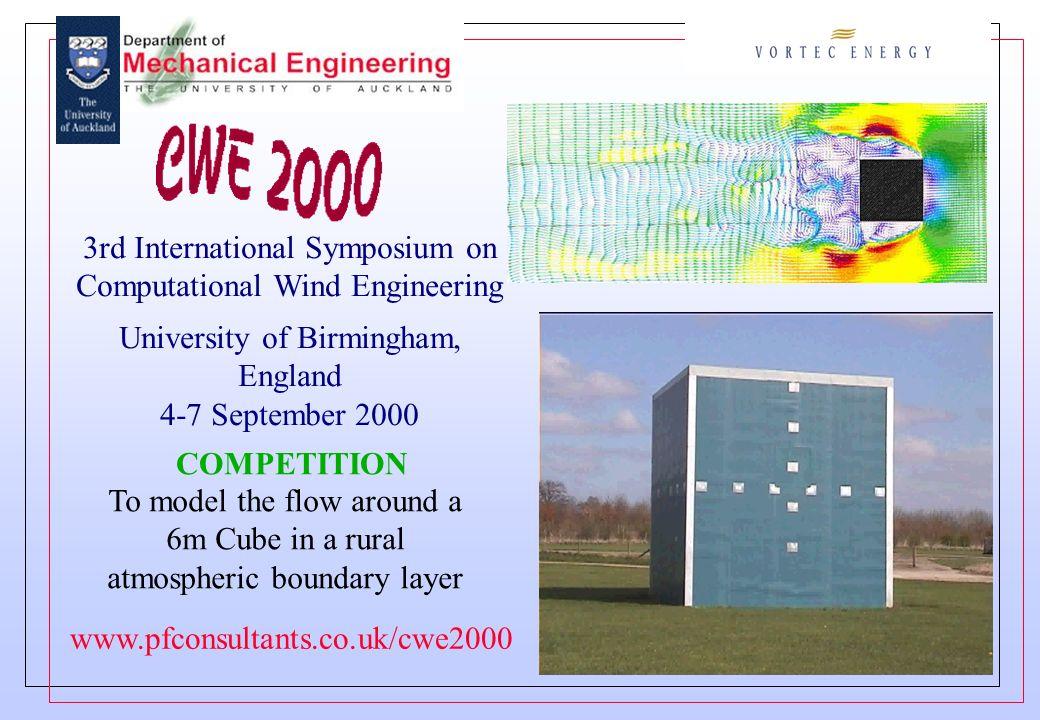3rd International Symposium on Computational Wind Engineering