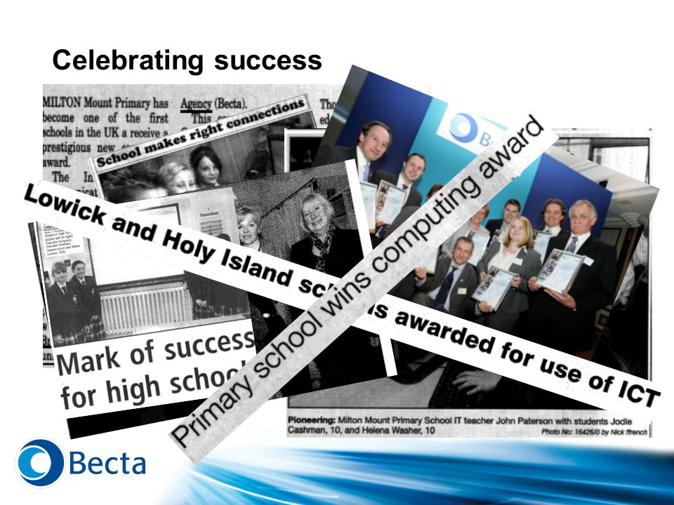 Celebrating success