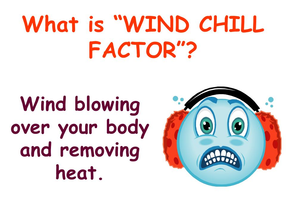 What is WIND CHILL FACTOR