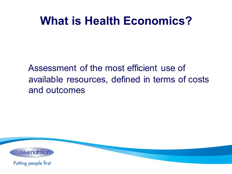 What is Health Economics