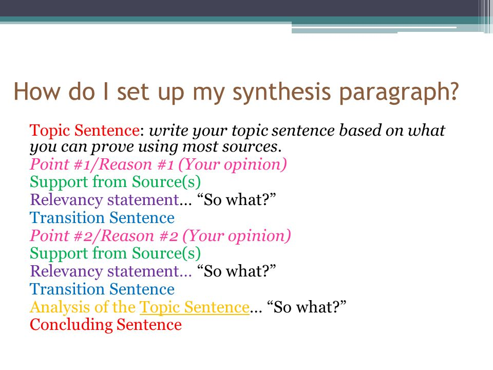 List of 95 Synthesis Essay Topics