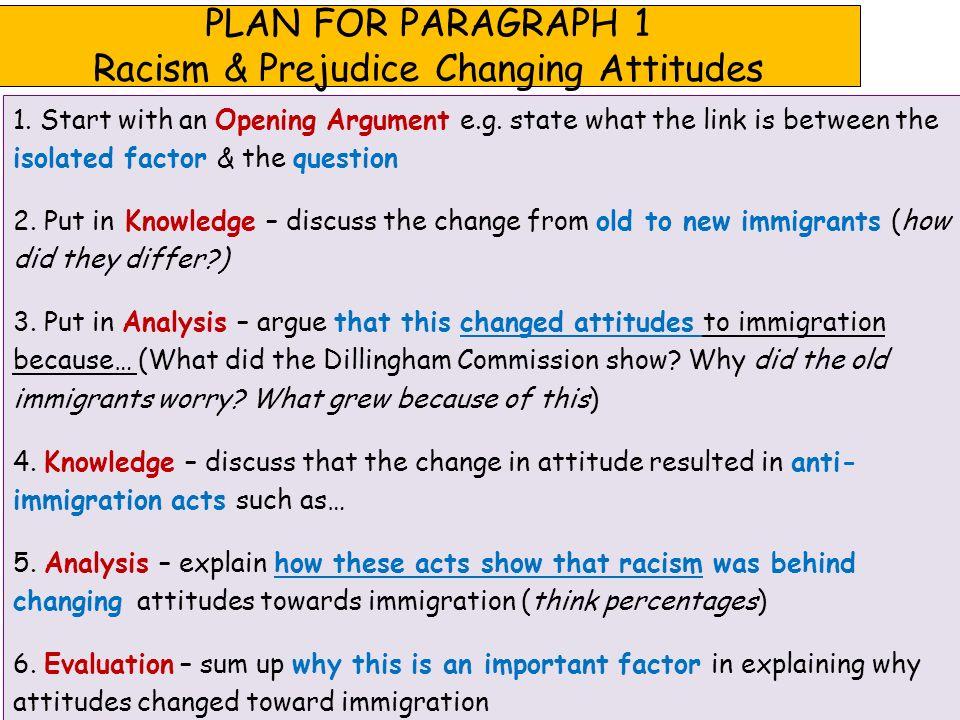 Argumentative Essay Racism