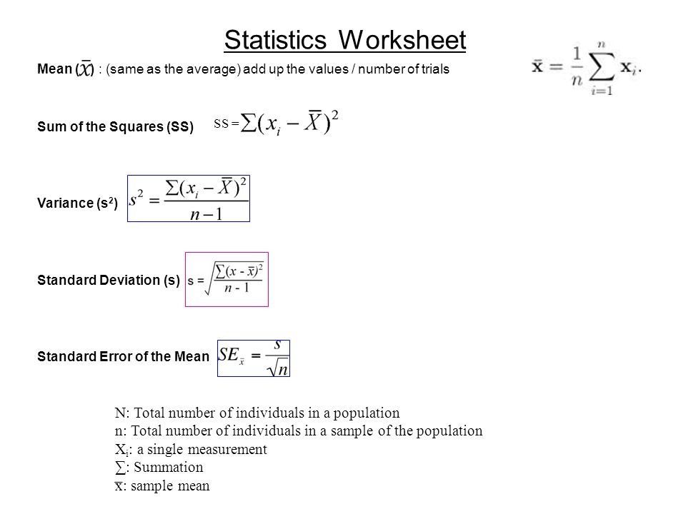 Statistical Significance Of Data  Ppt Video Online Download