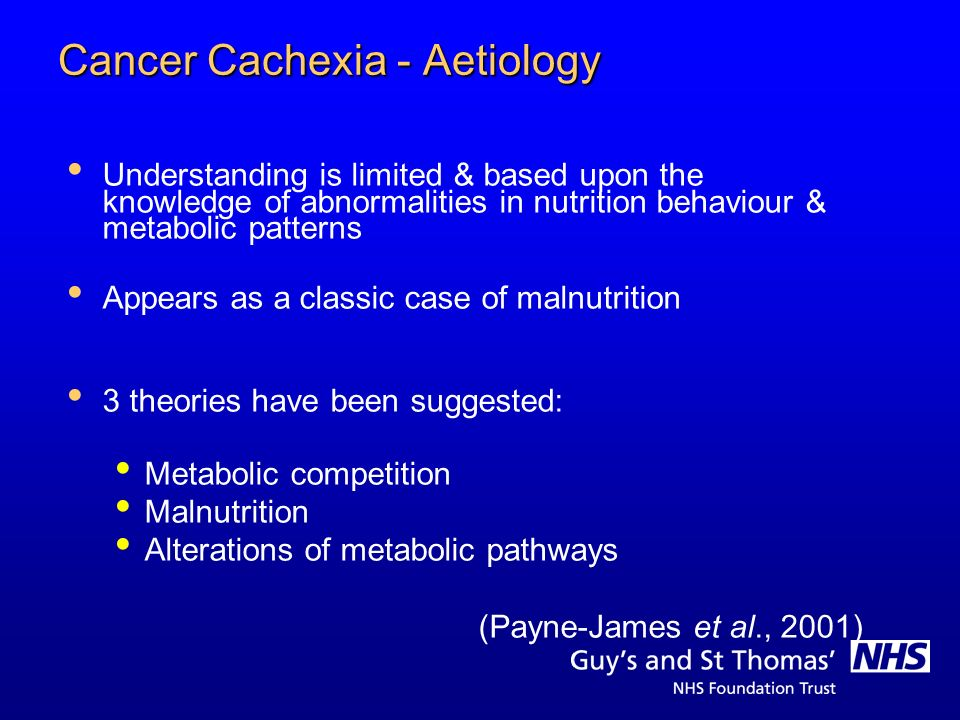 Cancer Cachexia - Aetiology