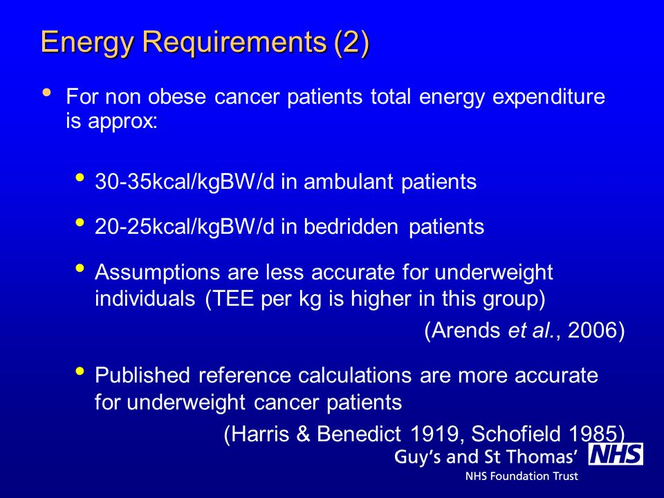 Energy Requirements (2)