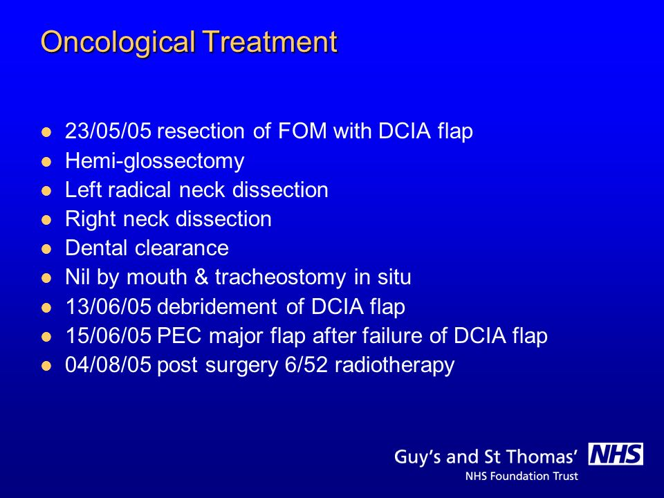 Oncological Treatment
