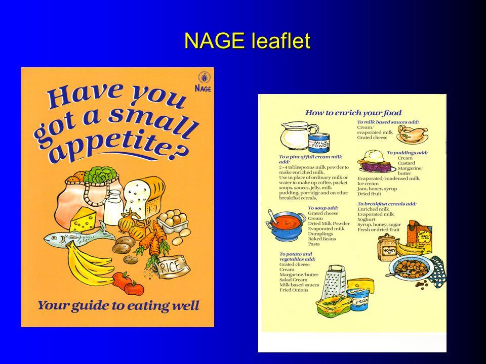 NAGE leaflet