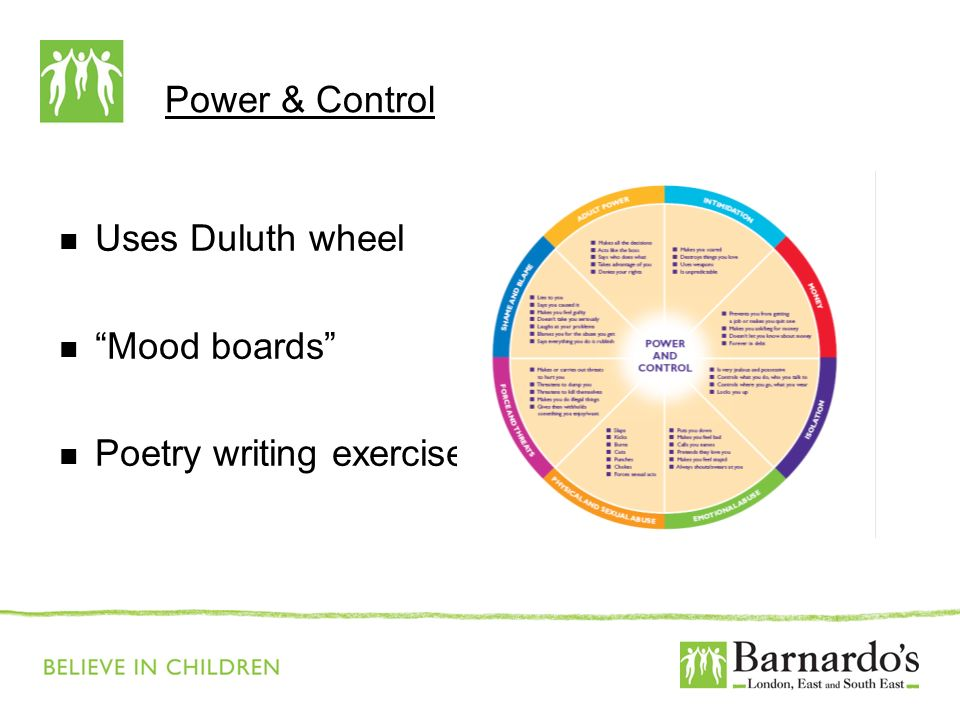 Barnardo's Core Presentation Slide No. 10