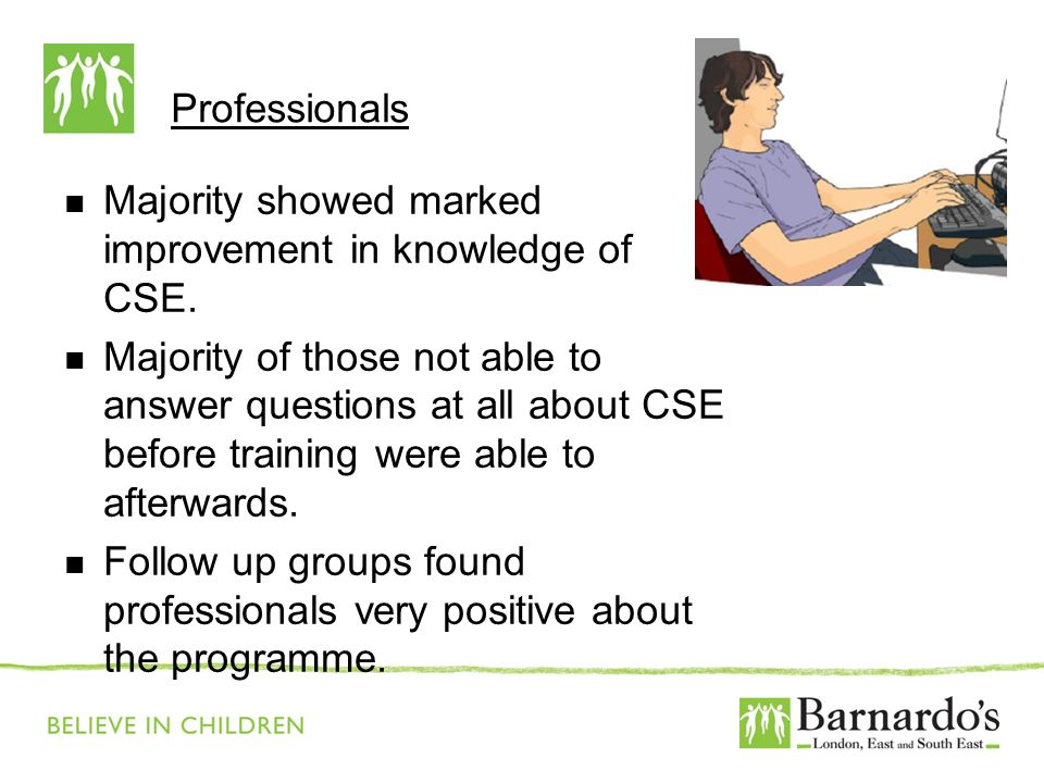 Barnardo's Core Presentation Slide No. 16