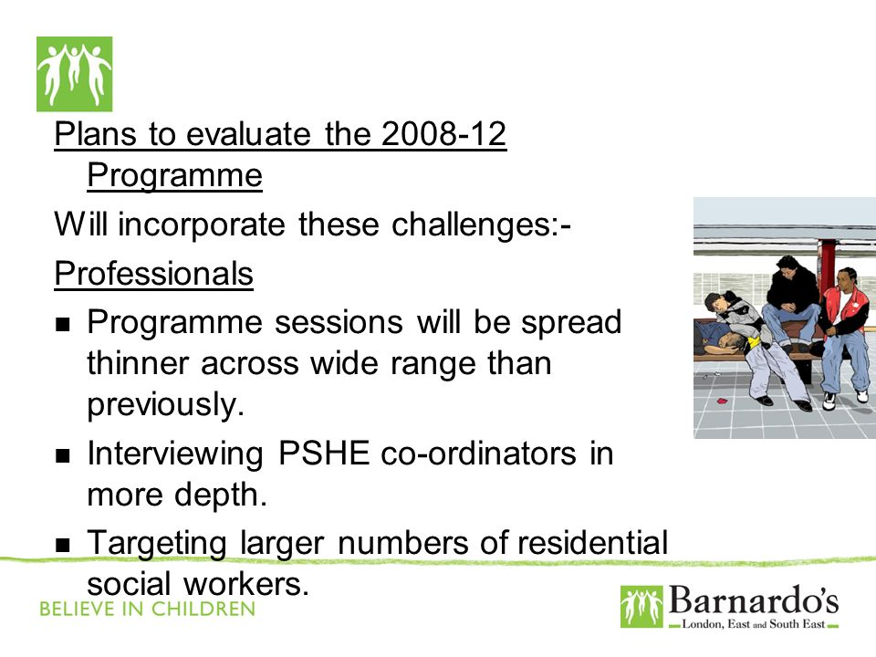 Barnardo's Core Presentation Slide No. 17