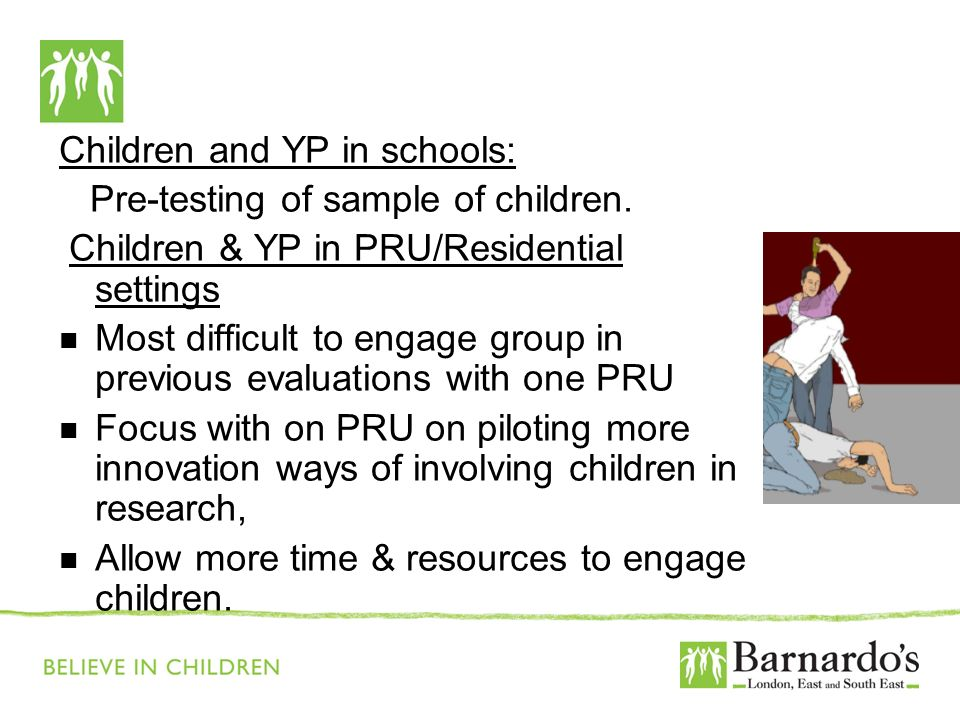 Barnardo's Core Presentation Slide No. 18