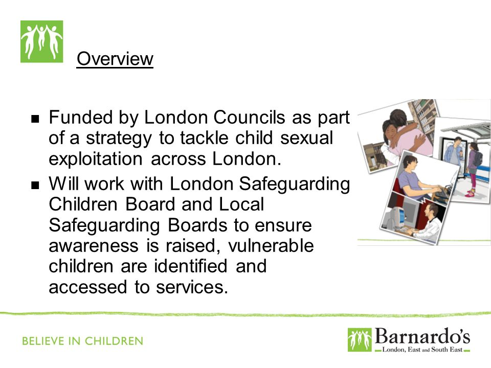 Barnardo's Core Presentation Slide No. 2