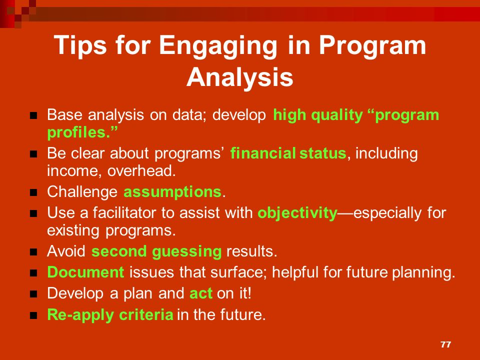 program analysis There has been increasing interest in the application of sophisticated program analysis techniques to software development and maintenance tools such tools include those used for program understanding, verification, testing, debugging, reverse engineering, and profiling.