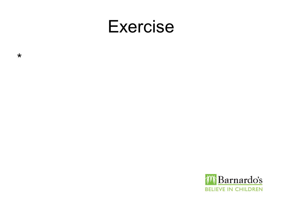 Exercise *