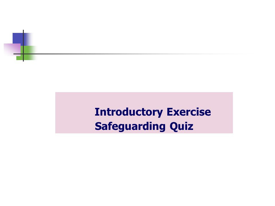 safeguarding quiz Start studying safeguarding learn vocabulary, terms, and more with flashcards, games, and other study tools.