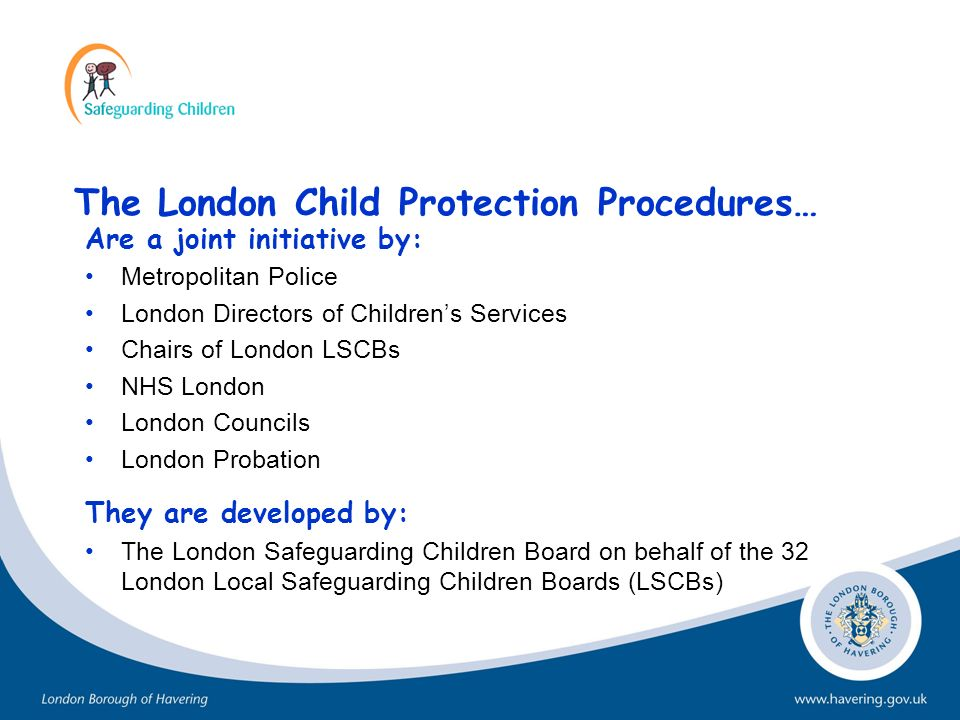 The London Child Protection Procedures…