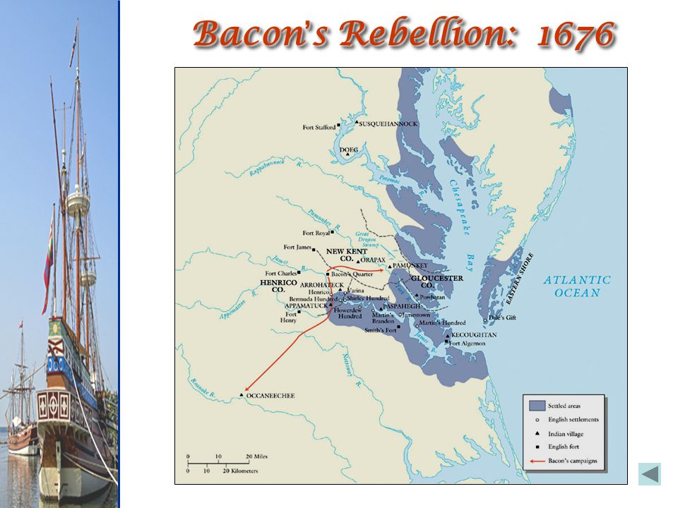 bacon s justification for his rebellion against berkeley in 1676 Bacon died shortly after or during the rebellion, probably of typhus or dysentery from hiding out in the swamps of the york river thus, with his death, the rebellion subsided governor berkeley, retaliated by executing two dozen or so of the co-rebels.