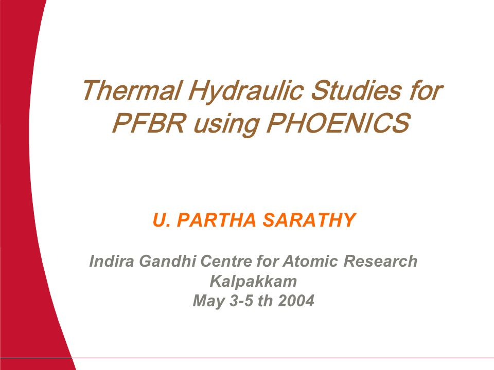 Thermal Hydraulic Studies for PFBR using PHOENICS