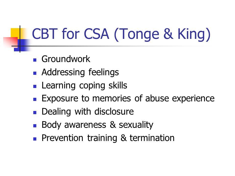 CBT for CSA (Tonge & King)