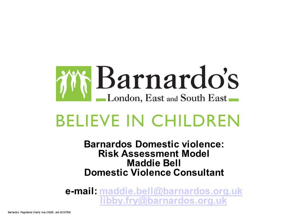 Barnardo's Core Presentation Slide No. 1