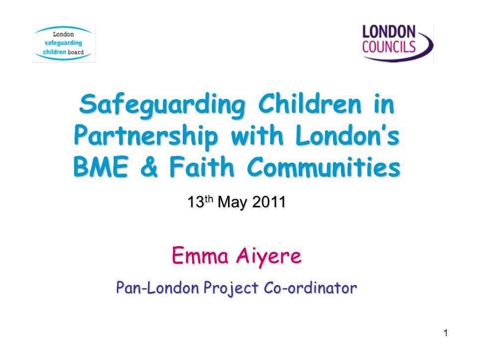Pan-London Project Co-ordinator