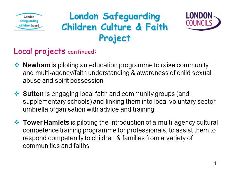 London Safeguarding Children Culture & Faith Project