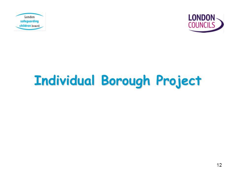 Individual Borough Project